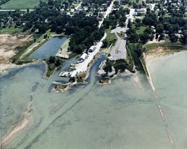 Dnr bayport harbor of refuge for Fish store bayport