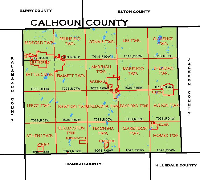 CF Map - Calhoun Countycalhoun county