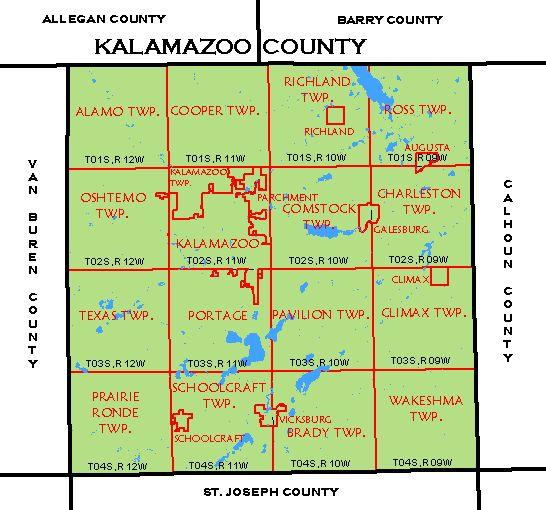 CF Map Kalamazoo County