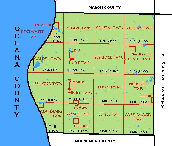 CF Map Oceana County