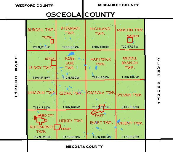 Cf Map Osceola County
