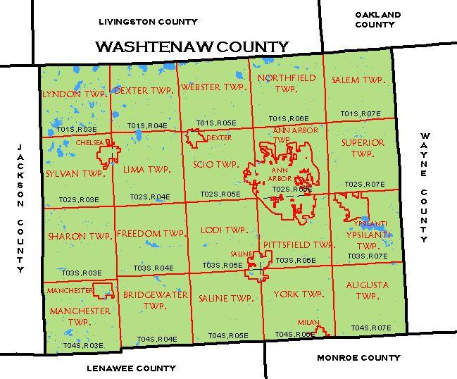 CF Map Washtenaw County