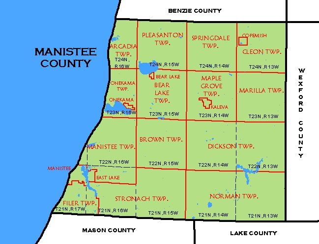 CF Map Manistee County