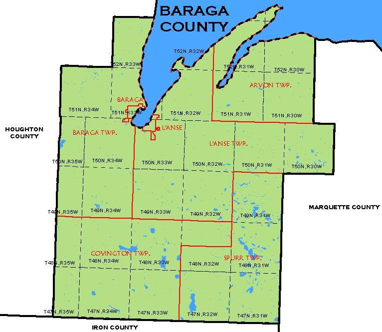 CF Map   Baraga County