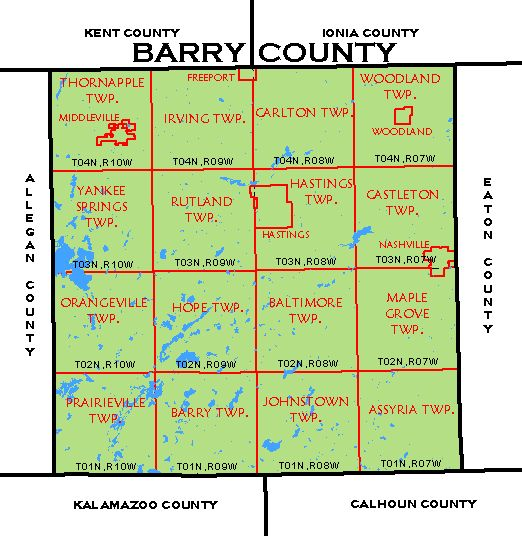 Cf Map Barry County