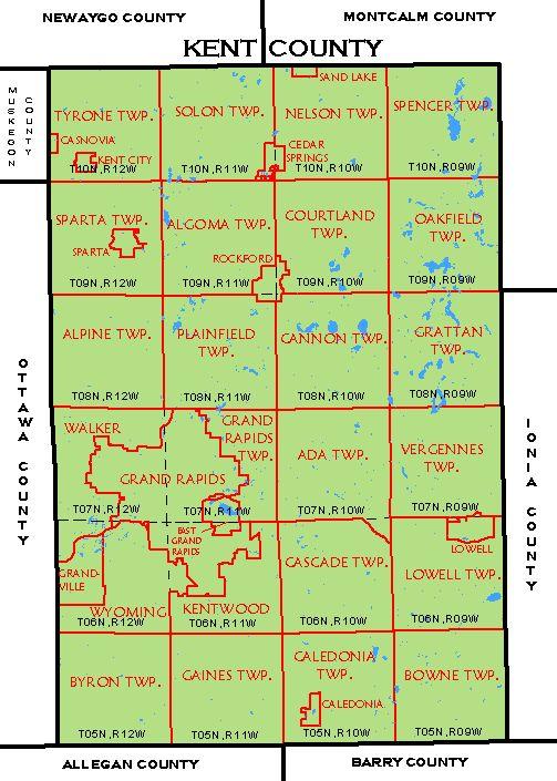 Cf Map Kent County